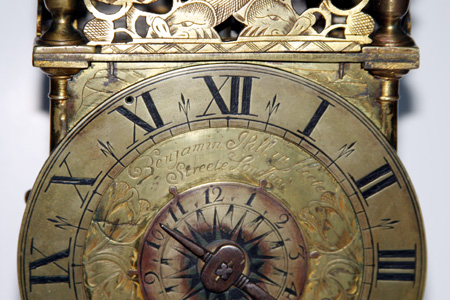 Wall Bell Clock Wall Clock A Rare German Black Forest