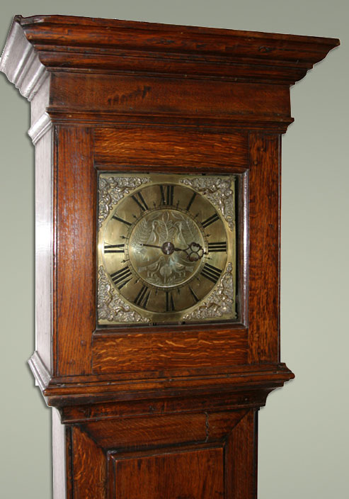 Early Primitive Provincial 30 Hour Longcase Clock With