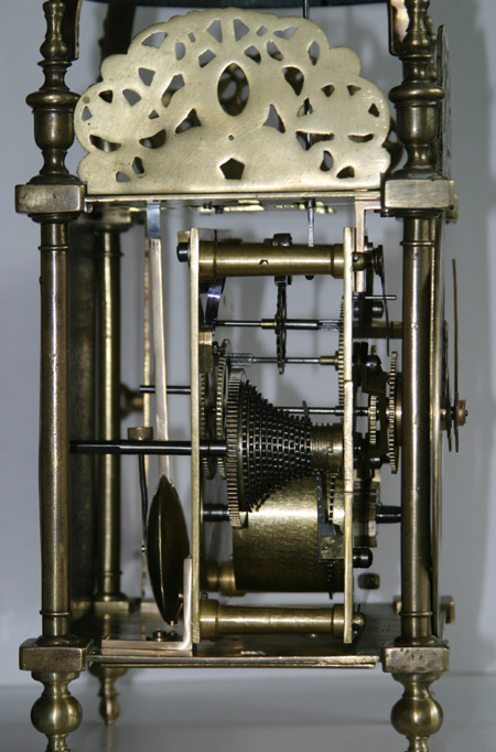 West Country Fusee Lantern Clock