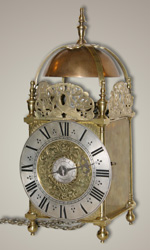 Centre-swing Lantern Clock