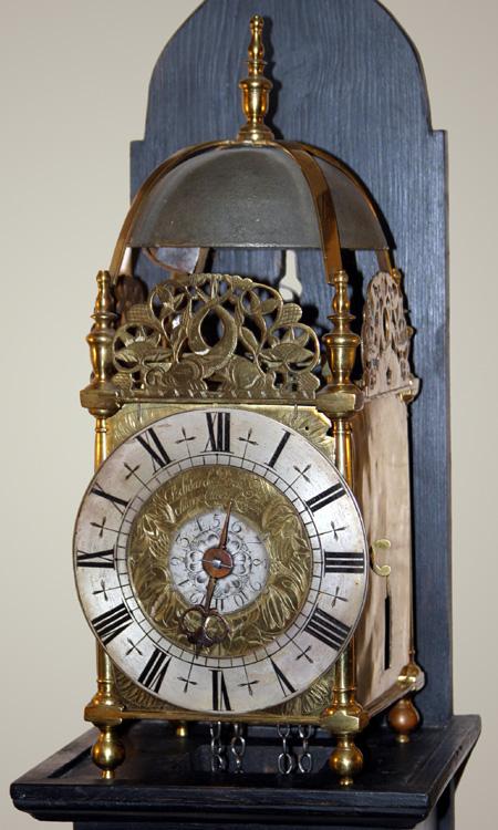 Lantern Clock By Edward Bird Exchange Alley London