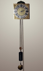 Francis Mitten hook & spike clock
