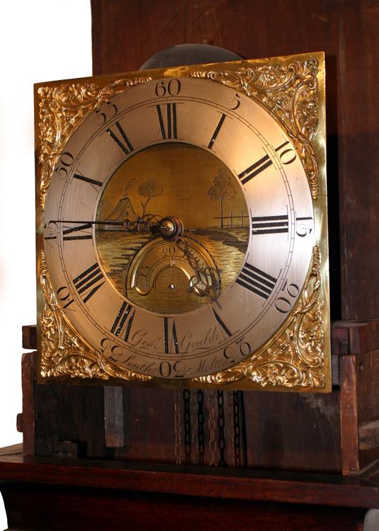 Longcase Clock By George Goulde South Molton Devon