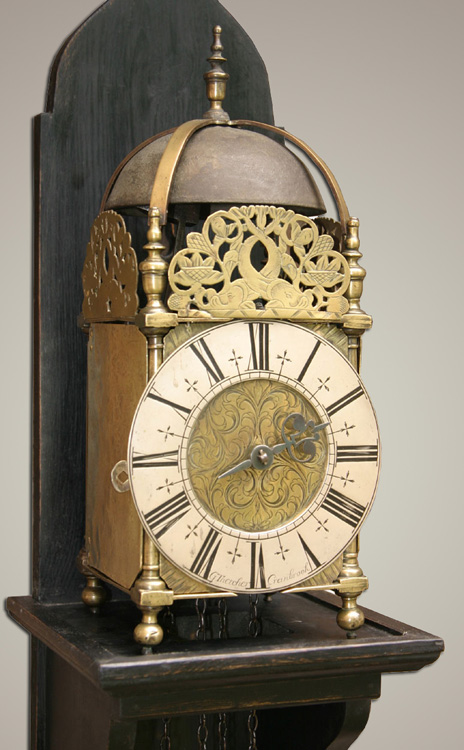 George Thatcher Of Cranbrook Kent Weight Driven Lantern Clock