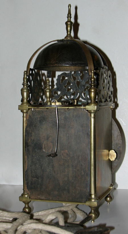 Lantern Clock By John Smorthwaite Of Colchester Essex Ref La32