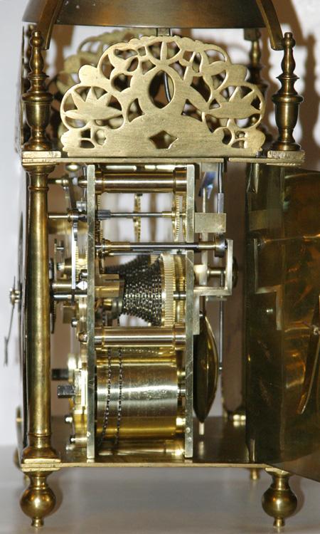Fusee Lantern Clock John Barnett At Ye Diall In Lothbury