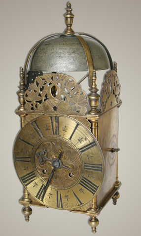 John Culliford of Bristol lantern clock