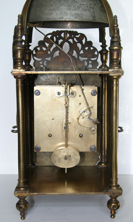 Spring Driven Lantern Clock By John Culliford Of Bristol