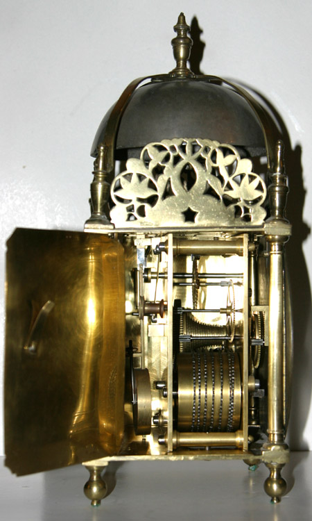 Single Fusee Lantern Clock By John Smorthwaite Colchester