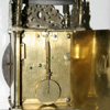 John Smorthwaite lantern clock rear view