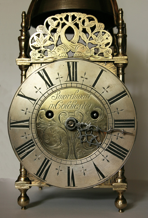 Fusee Lantern Clock By John Smorthwaite Of Colchester Essex