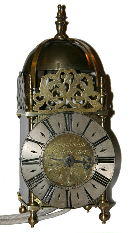 Lantern Clock By John Smorthwaite Of Colchester Essex