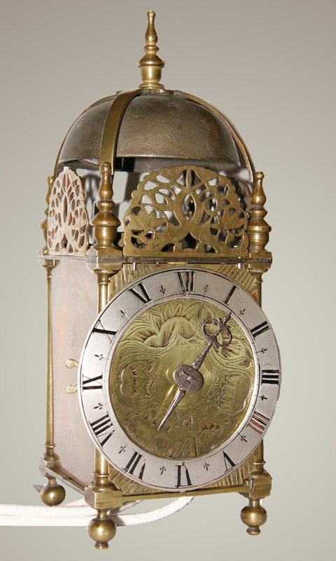 Three Quarter Size Northern Lantern Clock Lancashire
