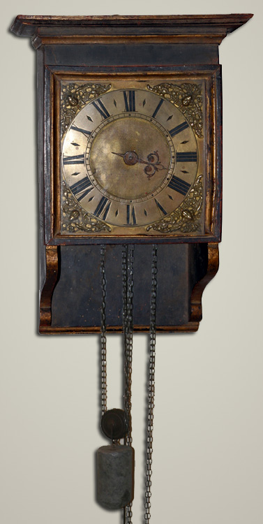 Primitive Hooded Wall Clock