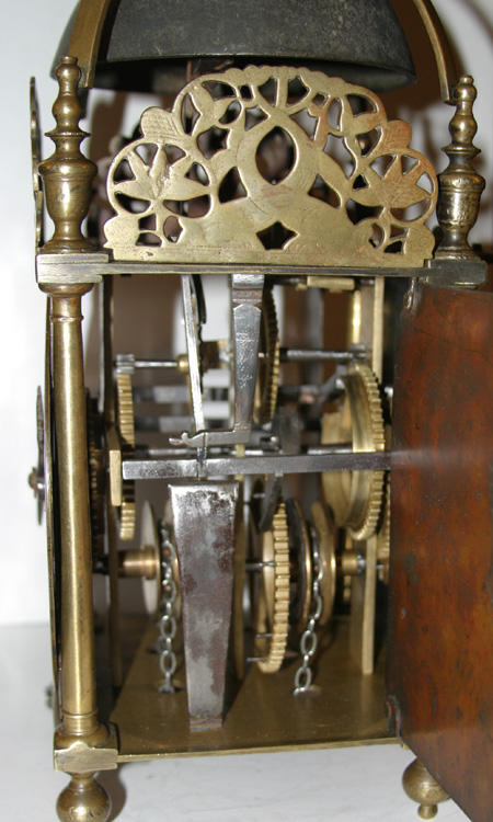 Lantern Clock By Thomas Knifton London