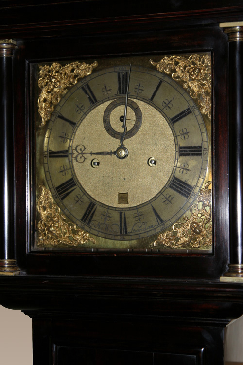 8 Day Ebonised Longcase Clock By Thomas Wise Of London