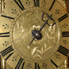 West Country lantern clock dial detail