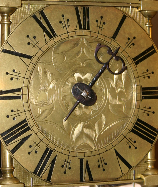 West Country Lantern Clock With Rare Tic Tac Escapement