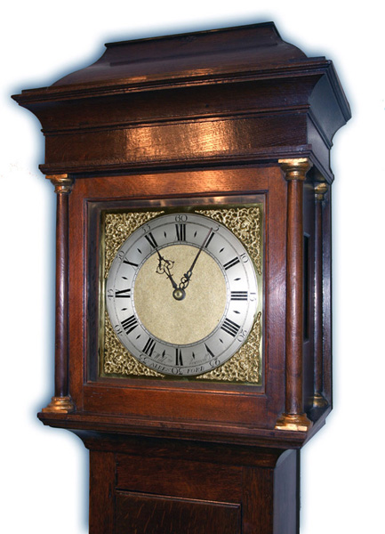 Longcase Clock By William Avenell Of Alresford Hampshire