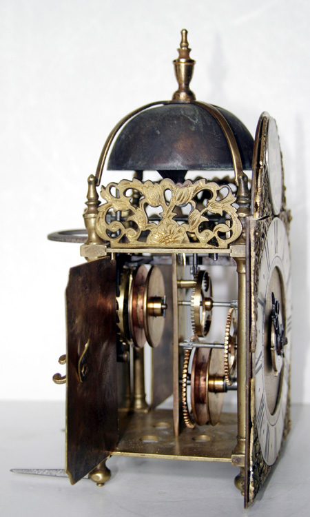 William Lambert Of London Miniature Lantern Alarm Timepiece